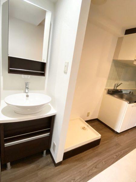 独立洗面台・室内洗濯機置場