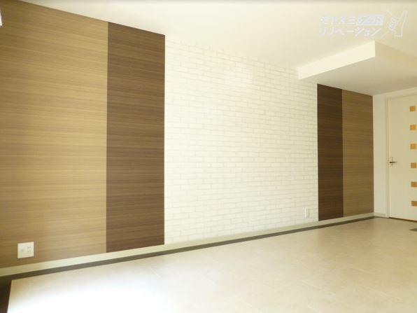 ホワイト×木のやさしいお部屋