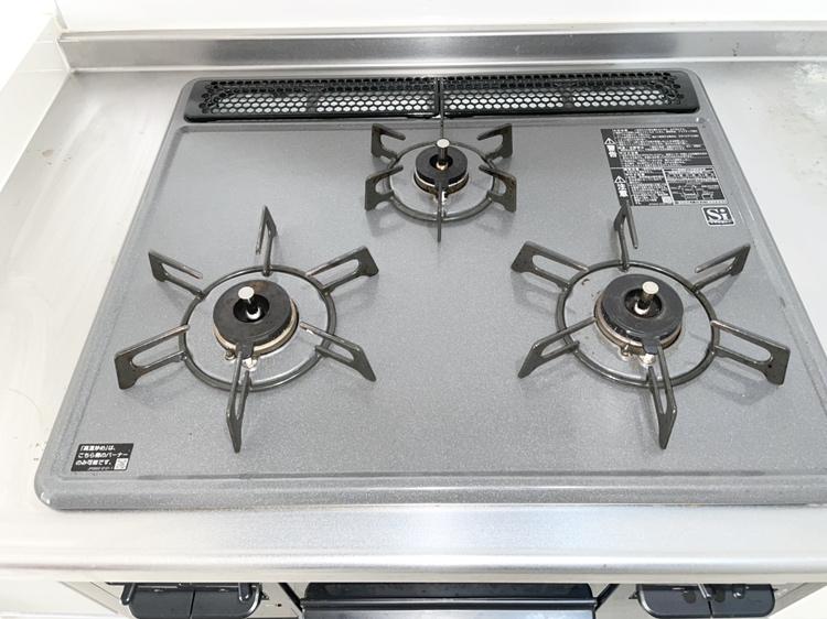 3口ガスコンロ(キッチン)